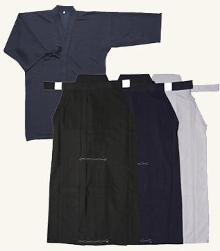 紺ジャージ剣道衣+新特製テトロン袴