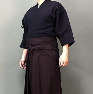 武州正藍染紺二重・武州正藍染め剣道袴10000番『碧』